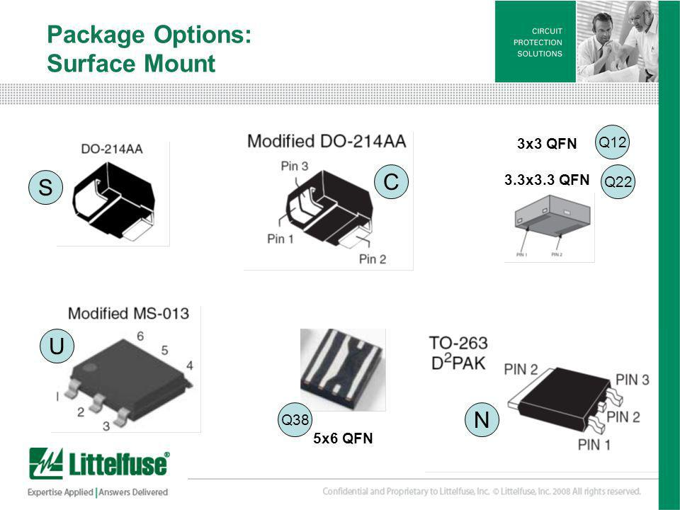 Package Options: Surface Mount