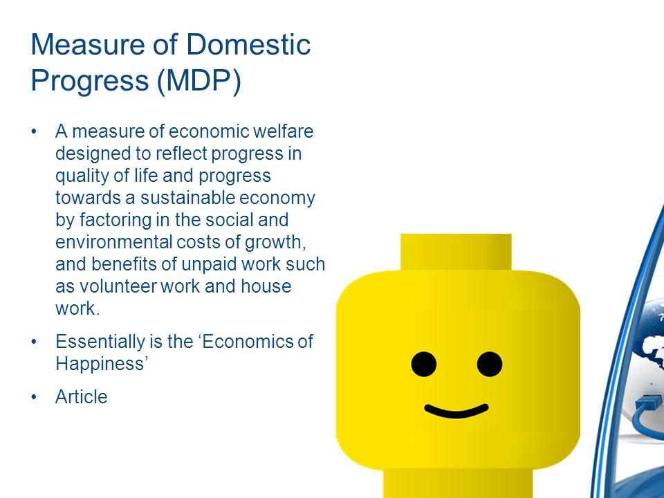 Measure of Domestic Progress (MDP)