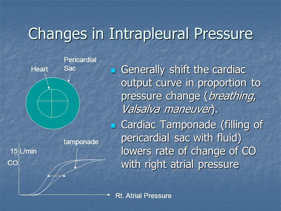 Changes in Intrapleural Pressure