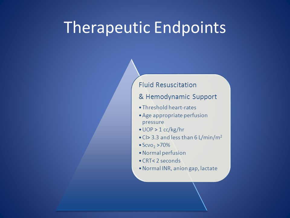 Therapeutic Endpoints