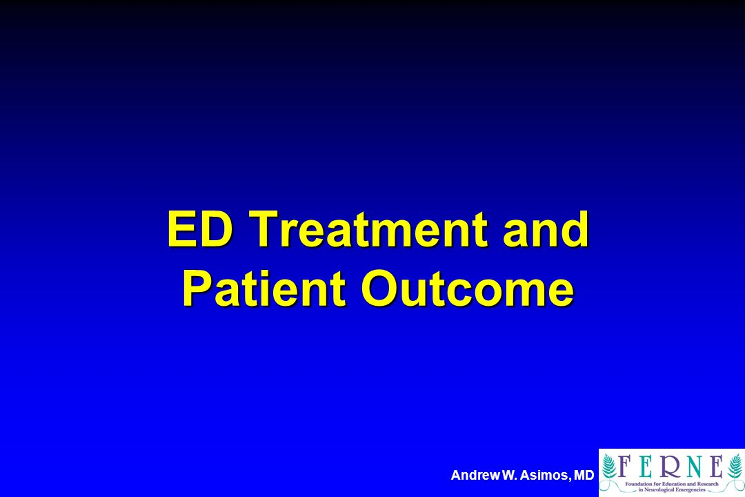 ED Treatment and Patient Outcome