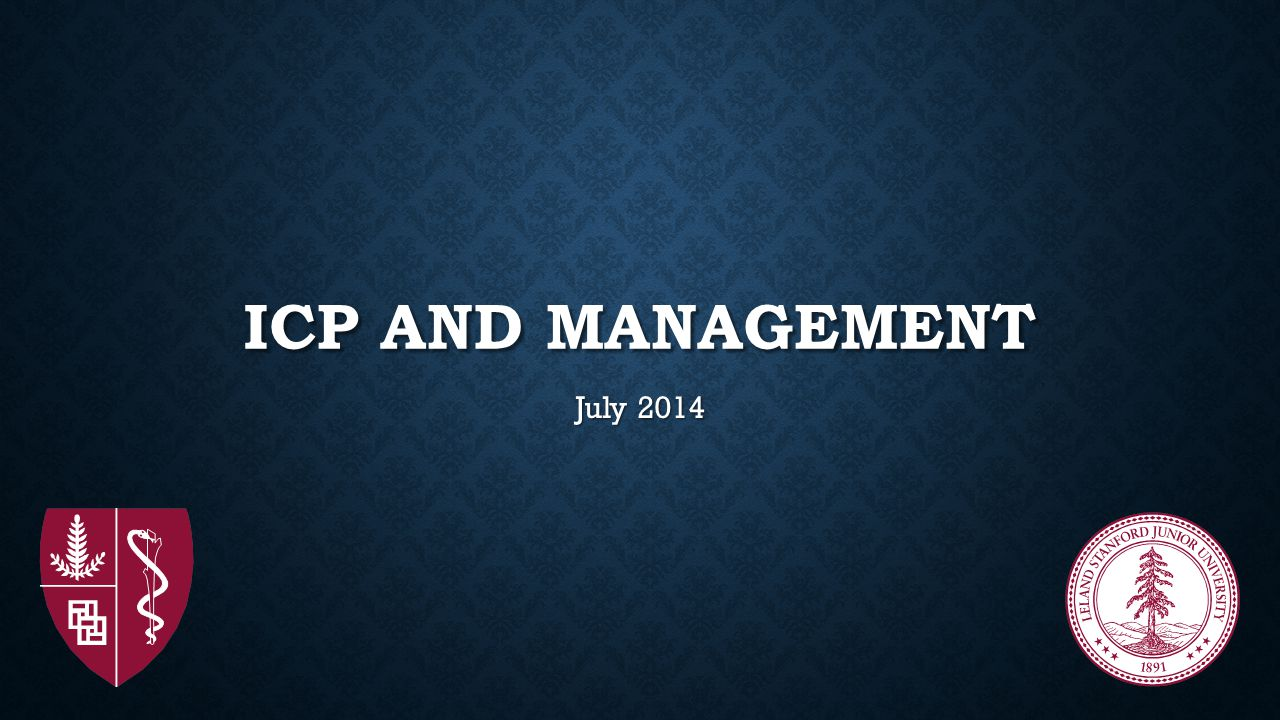 ICP and management July 2014