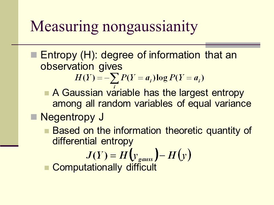 Measuring nongaussianity