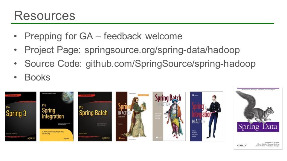 Resources Prepping for GA – feedback welcome
