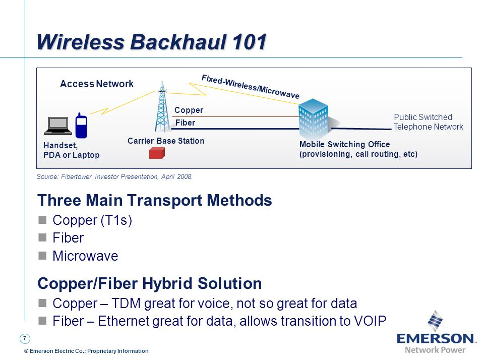 Wireless Backhaul 101 Three Main Transport Methods