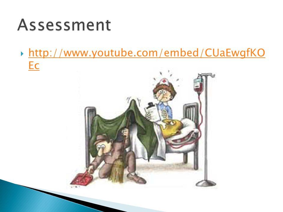 Assessment http://www.youtube.com/embed/CUaEwgfKO Ec