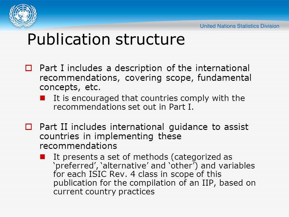 Publication structure