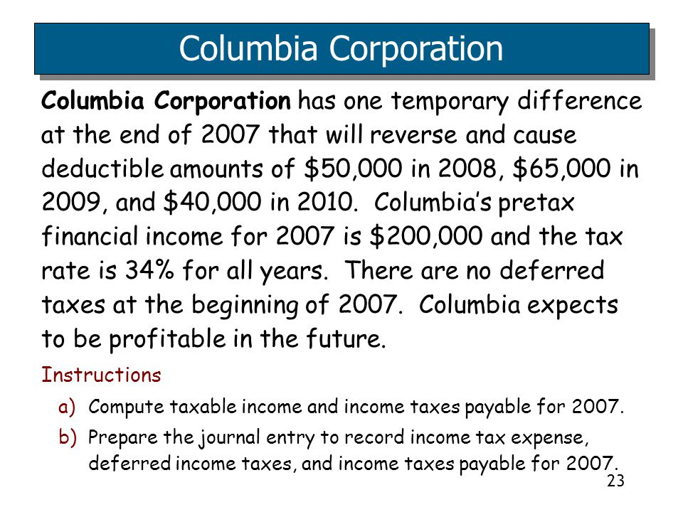 4/5/2017 Columbia Corporation.