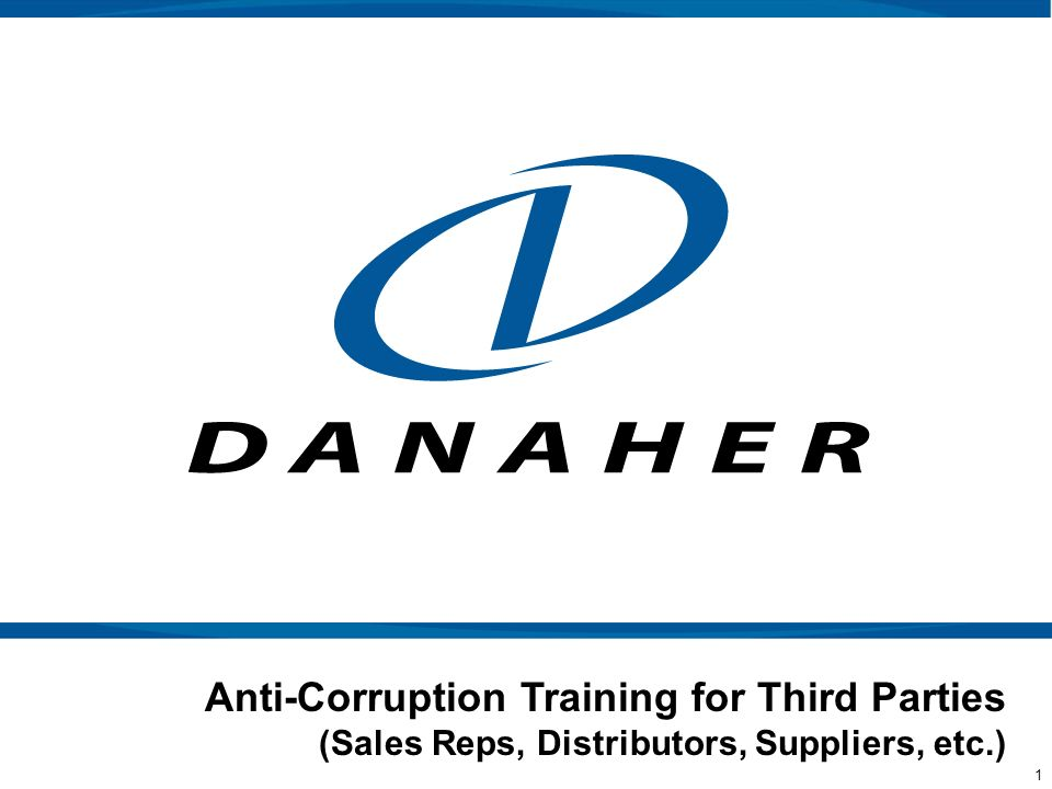 Anti-Corruption Training for Third Parties