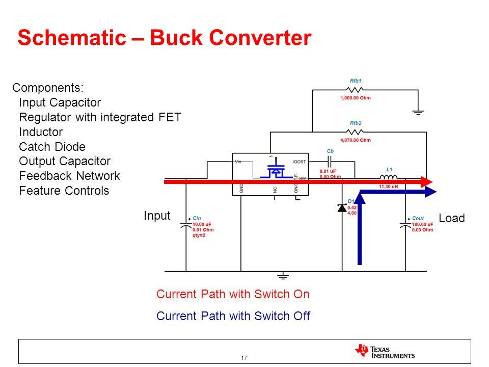 Schematic – Buck Converter