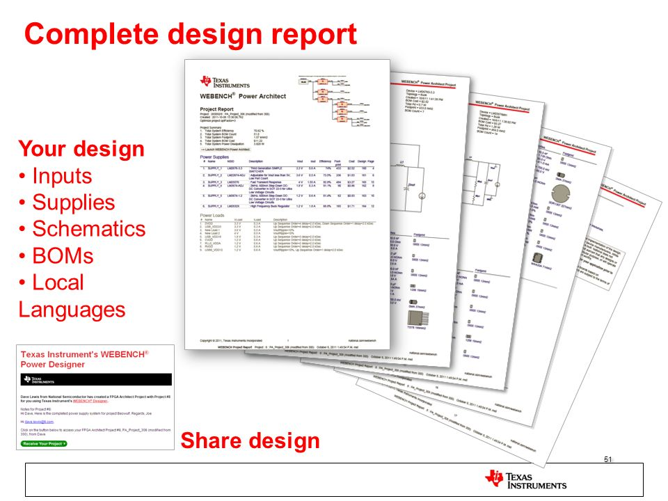 Complete design report