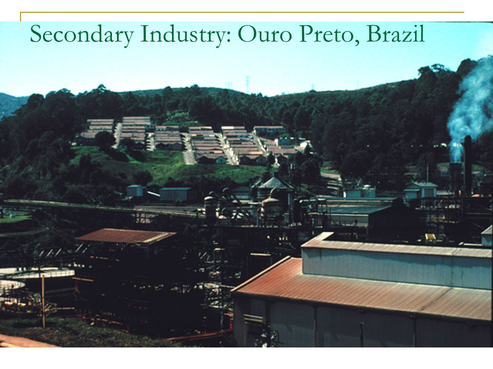 Secondary Industry: Ouro Preto, Brazil