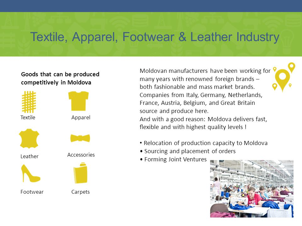 Textile, Apparel, Footwear & Leather Industry