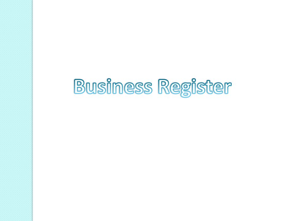 Business Register