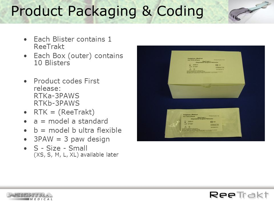 Product Packaging & Coding