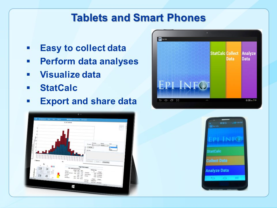 Tablets and Smart Phones