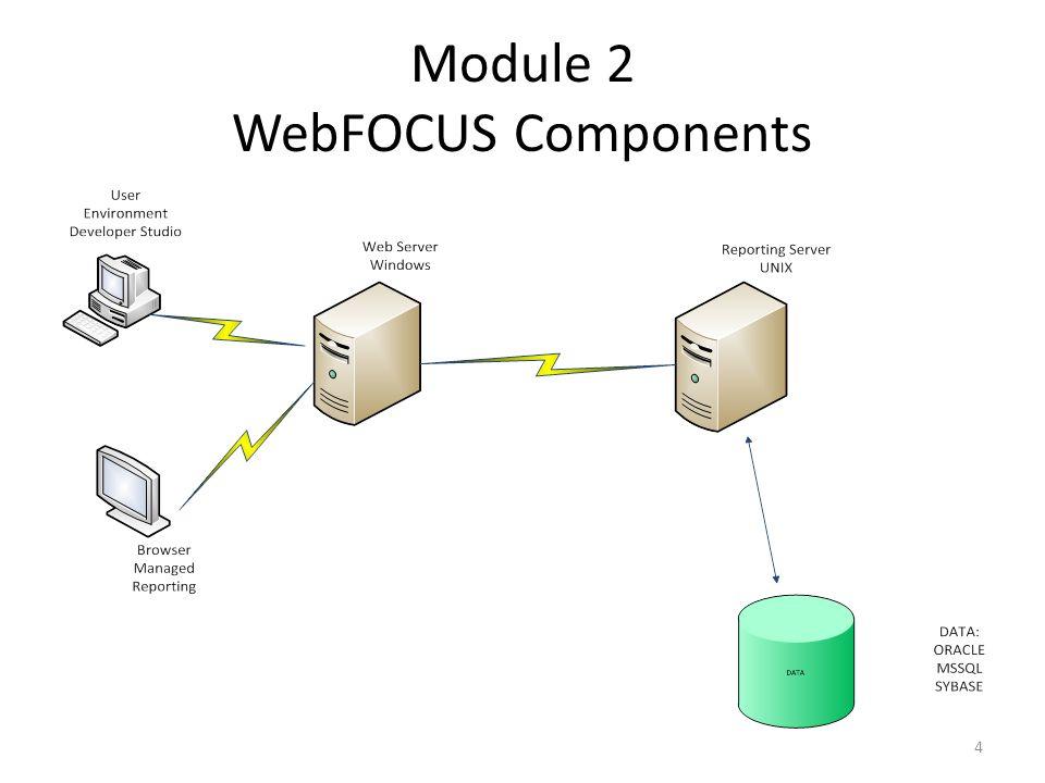Module 2 WebFOCUS Components