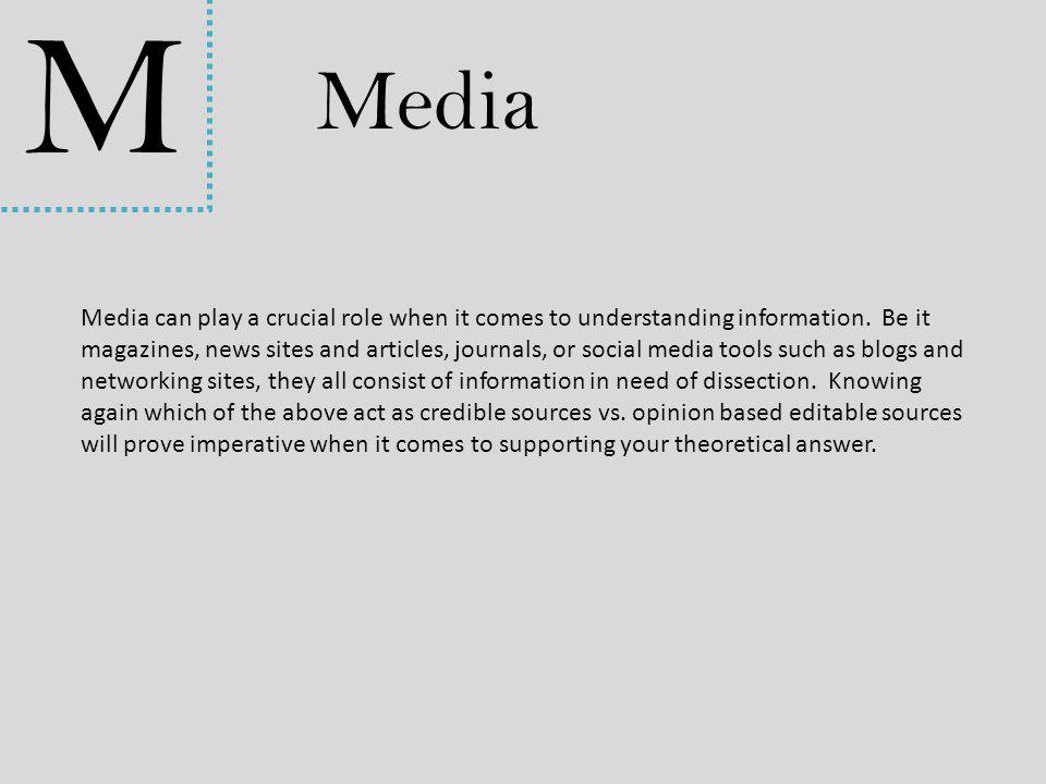 M Media.