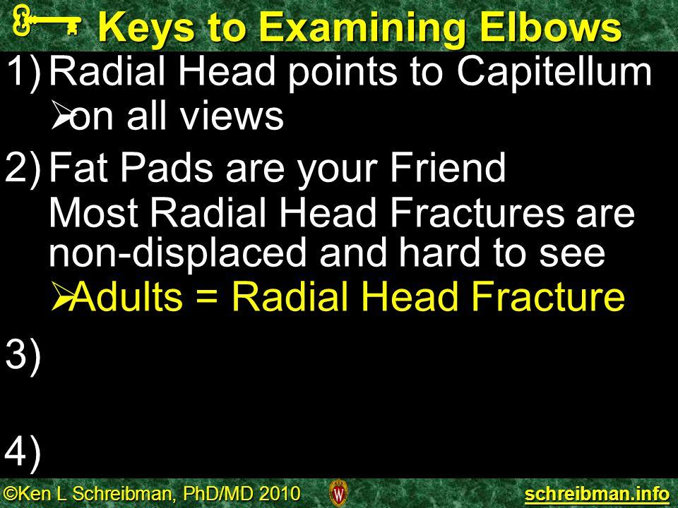 Keys to Examining Elbows