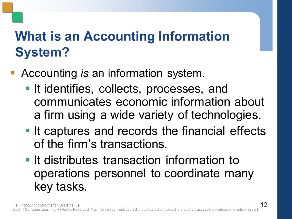 What is an Accounting Information System