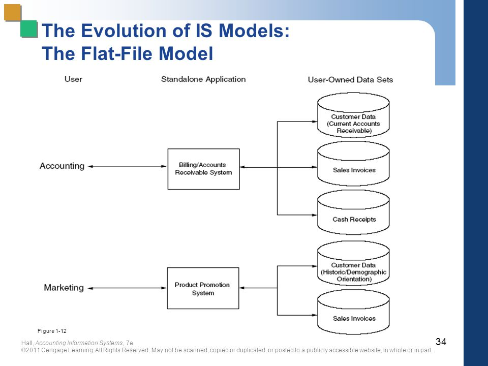 The Evolution of IS Models: The Flat-File Model