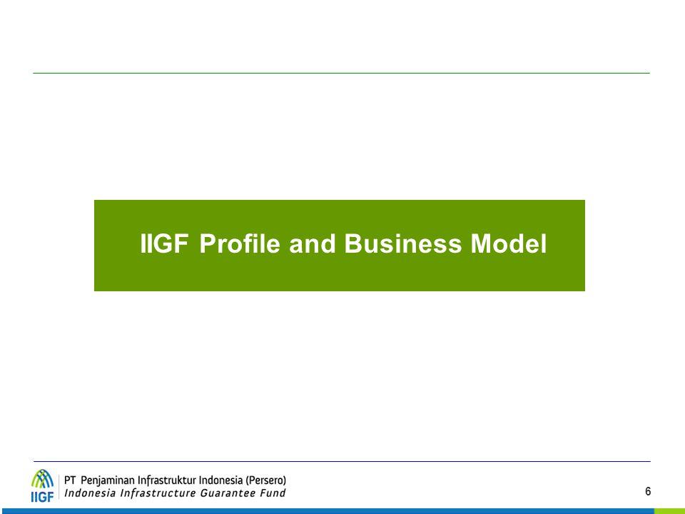 IIGF Profile and Business Model