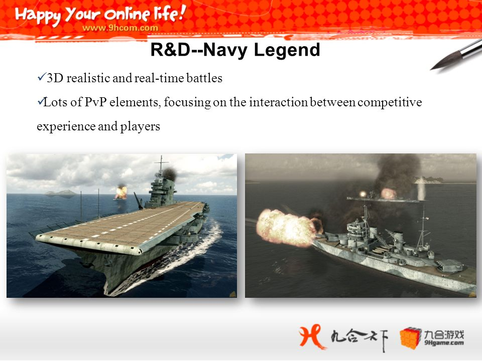 R&D--Navy Legend 3D realistic and real-time battles