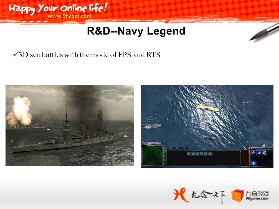 R&D--Navy Legend 3D sea battles with the mode of FPS and RTS 24