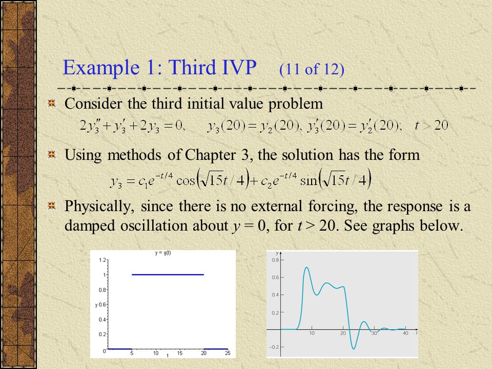 Example 1: Third IVP (11 of 12)