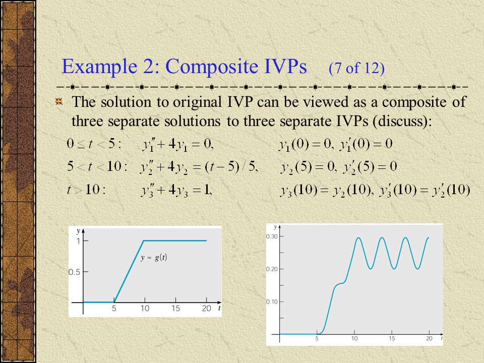 Example 2: Composite IVPs (7 of 12)