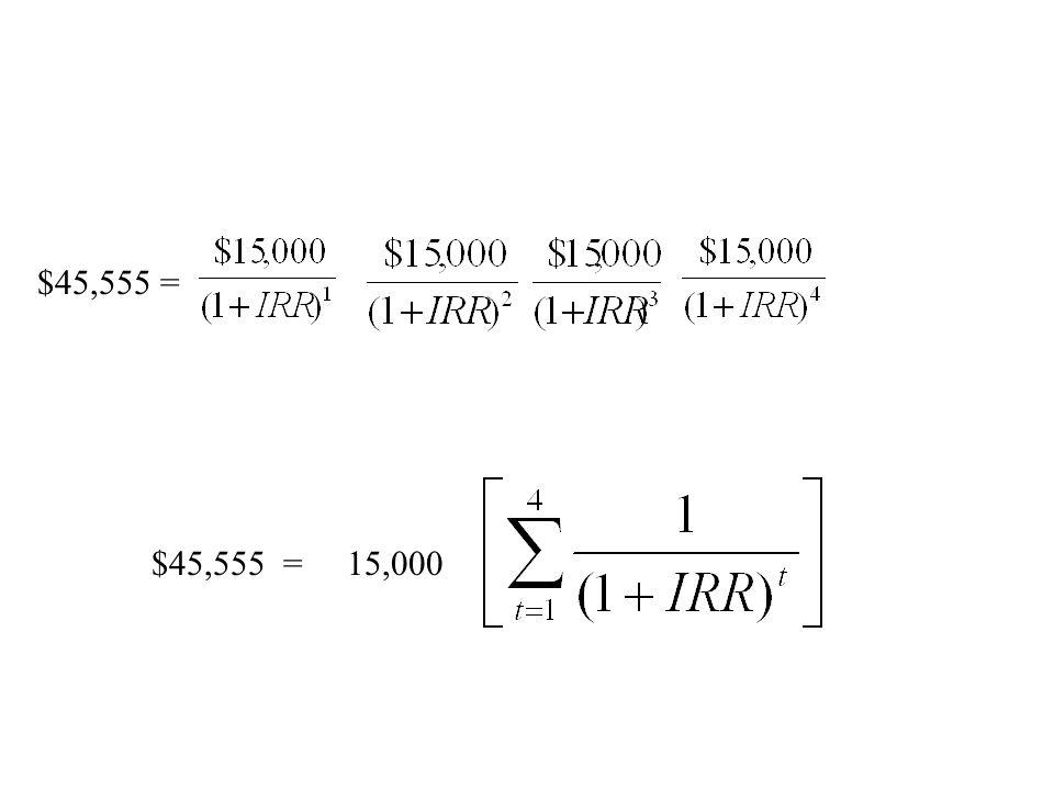 $45,555 = $45,555 = 15,000