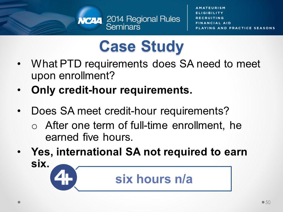 Case Study six hours n/a