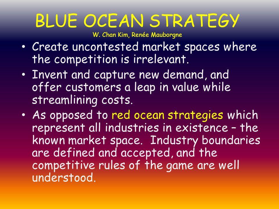 BLUE OCEAN STRATEGY W. Chan Kim, Renée Mauborgne
