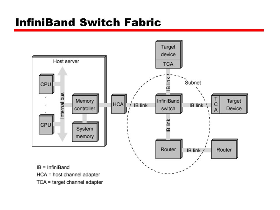 InfiniBand Switch Fabric