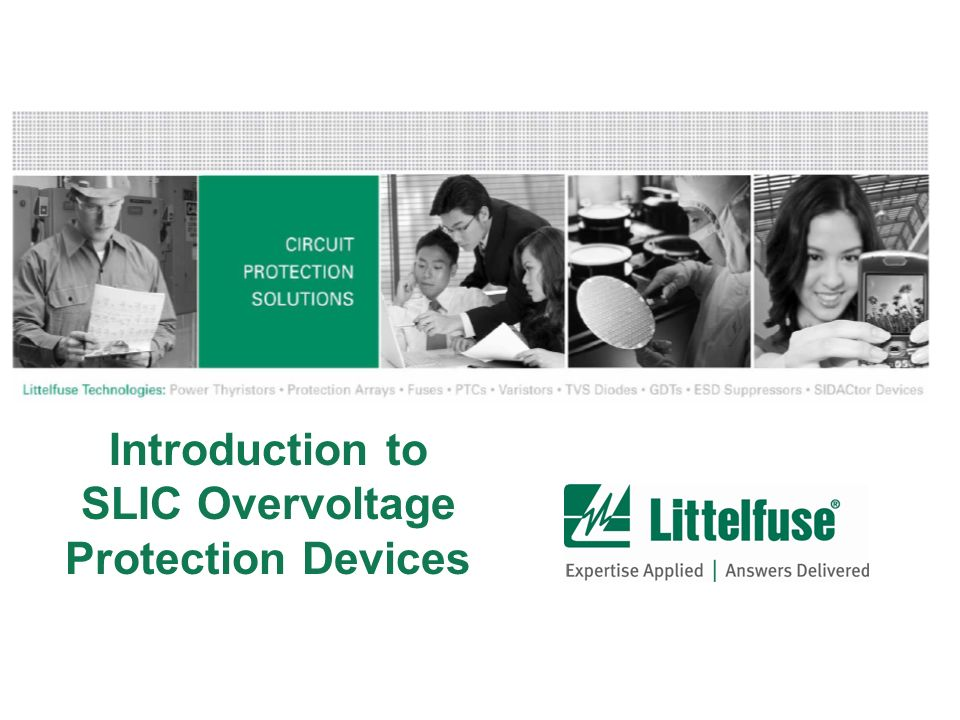 Introduction to SLIC Overvoltage Protection Devices
