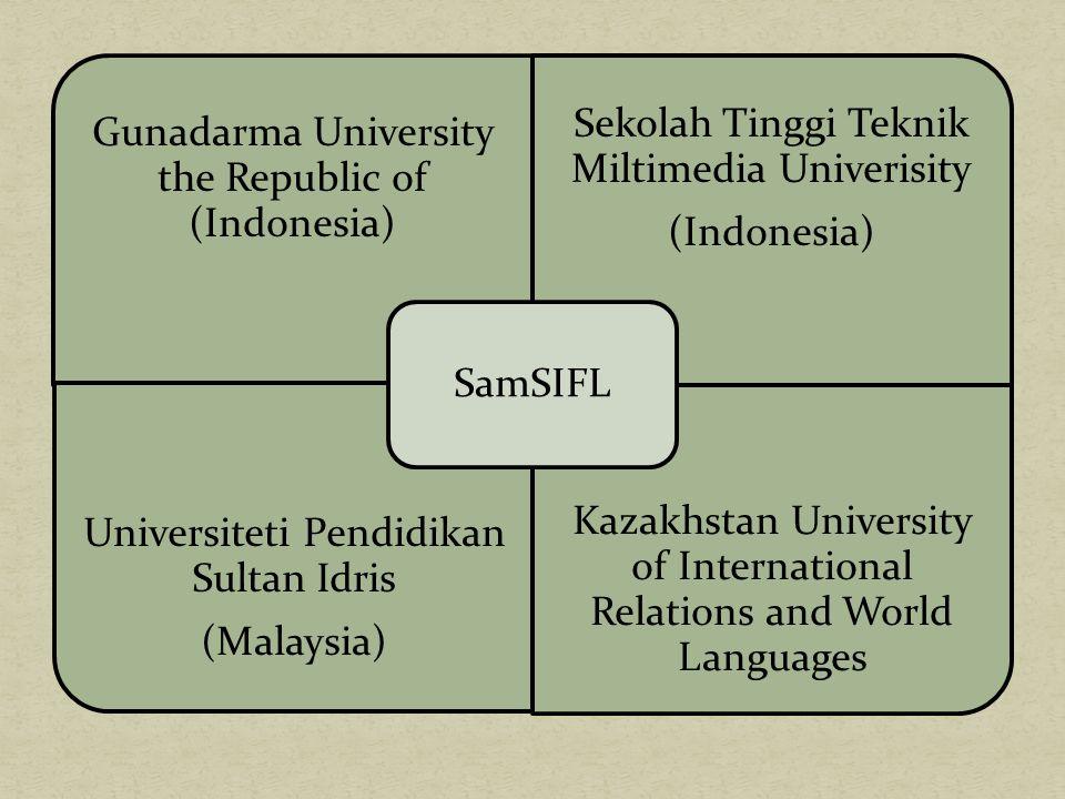 Gunadarma University the Republic of (Indonesia)