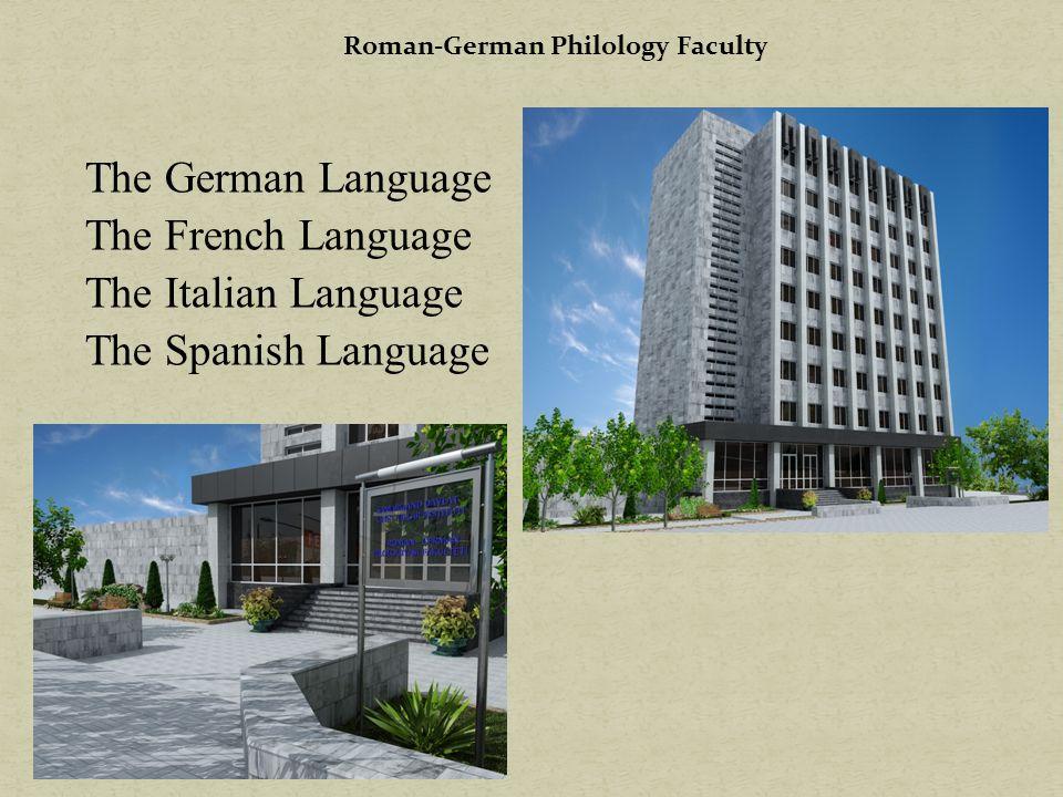 Roman-German Philology Faculty