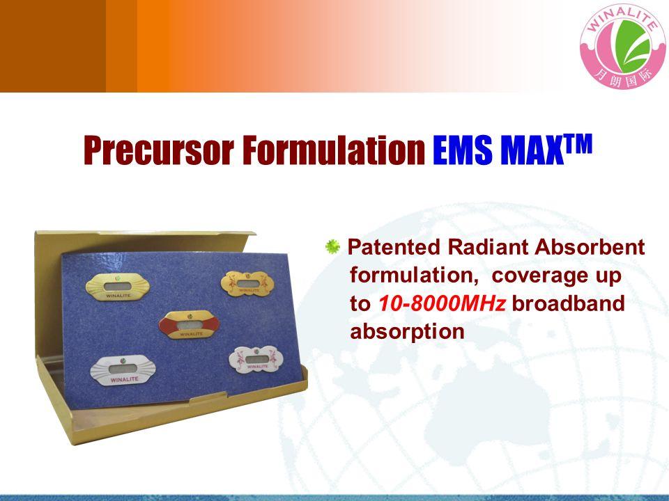 Precursor Formulation EMS MAXTM