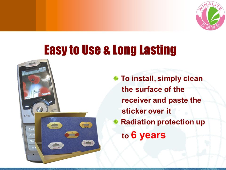 Easy to Use & Long Lasting