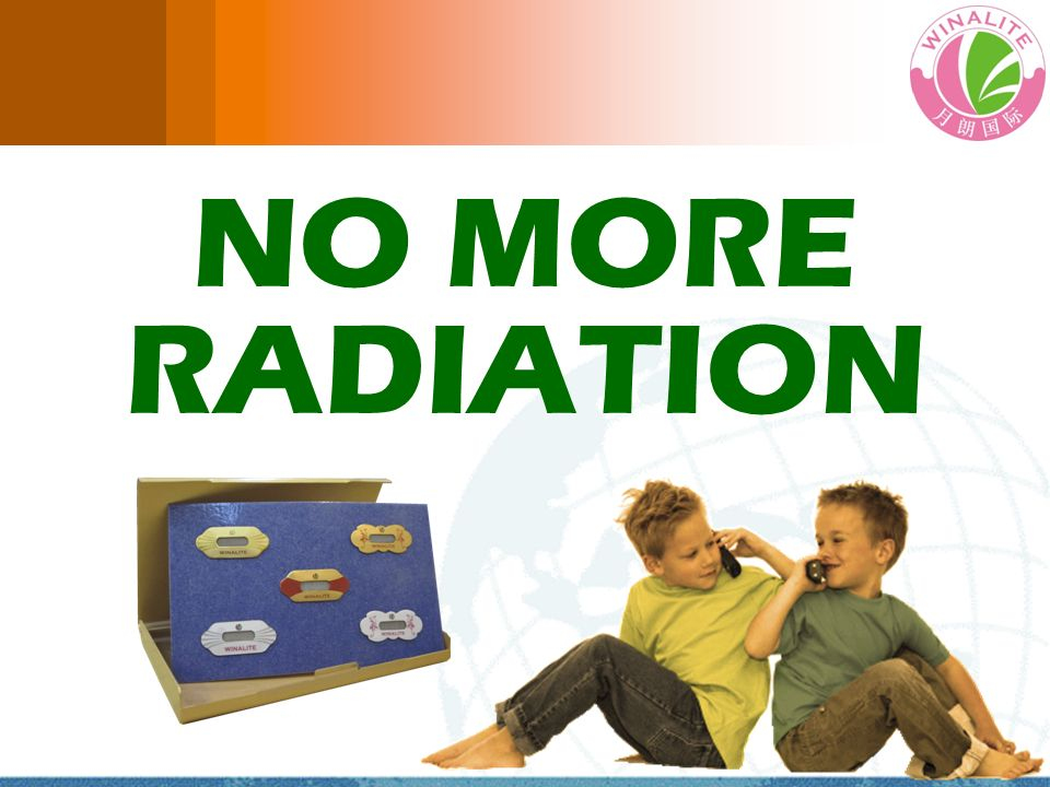 NO MORE RADIATION