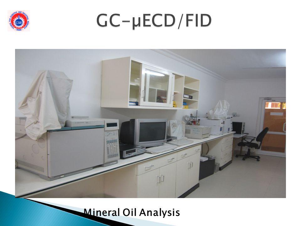 GC-µECD/FID Mineral Oil Analysis