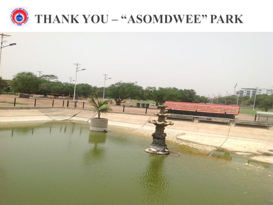 THANK YOU – ASOMDWEE PARK