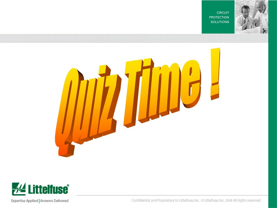 Quiz Time !