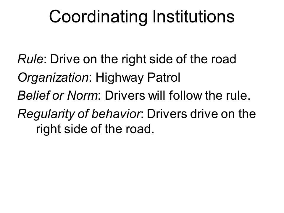 Coordinating Institutions