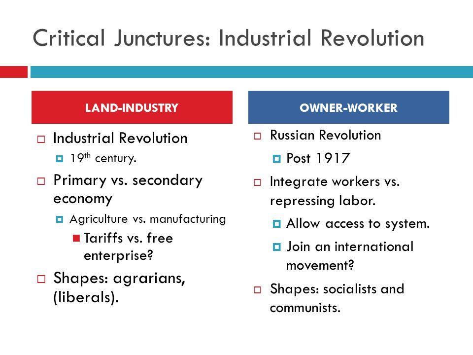 Critical Junctures: Industrial Revolution
