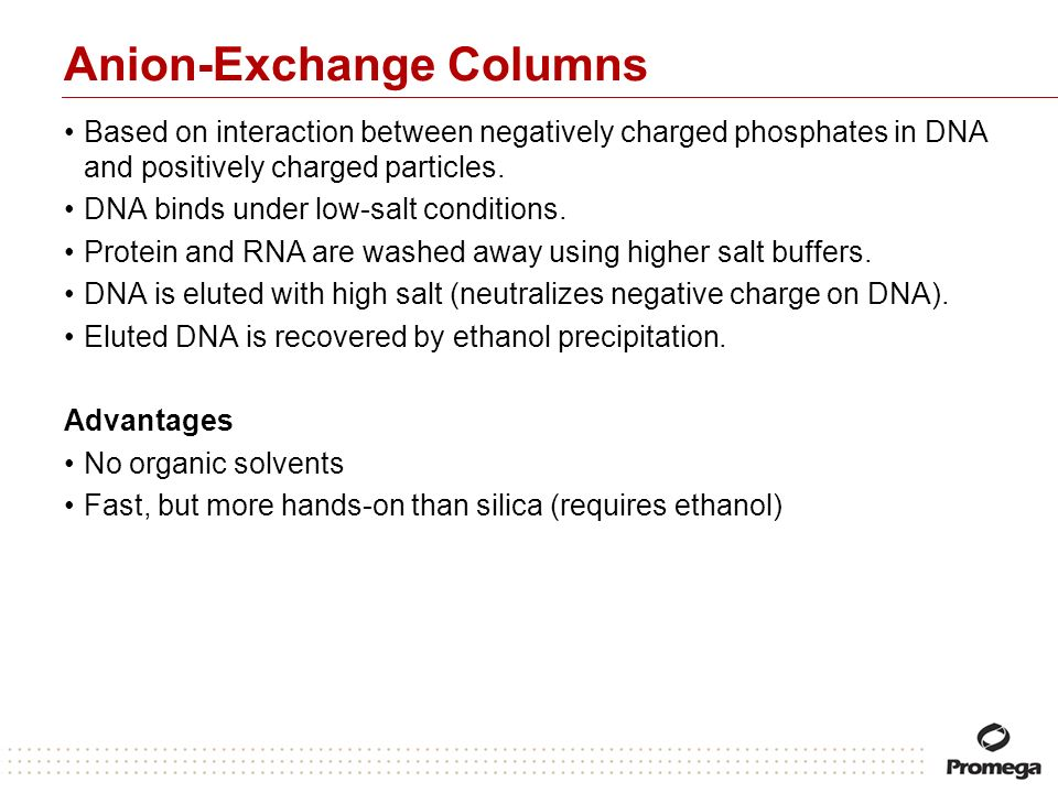 Anion-Exchange Columns