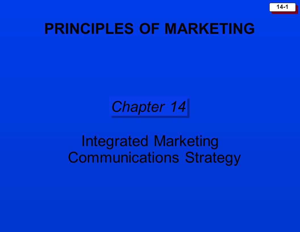 chapter 8 integrated marketing communications