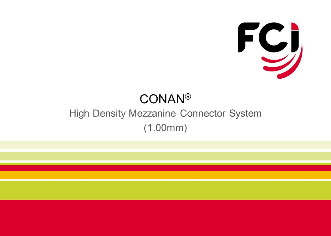 High Density Mezzanine Connector System (1.00mm)