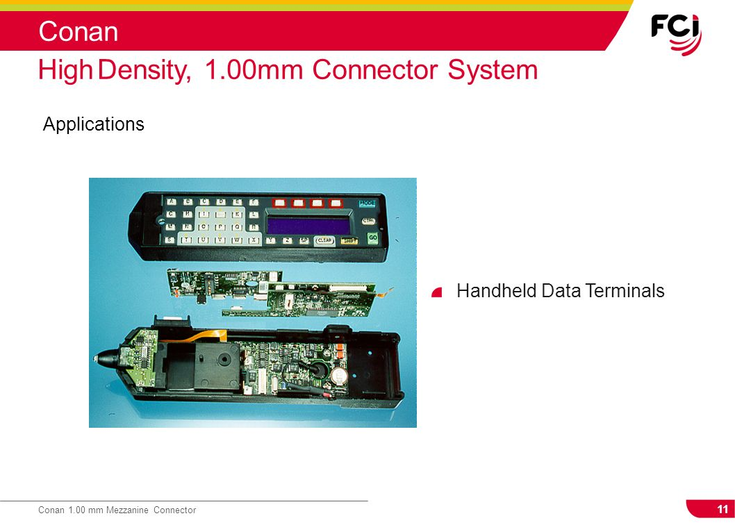 High Density, 1.00mm Connector System