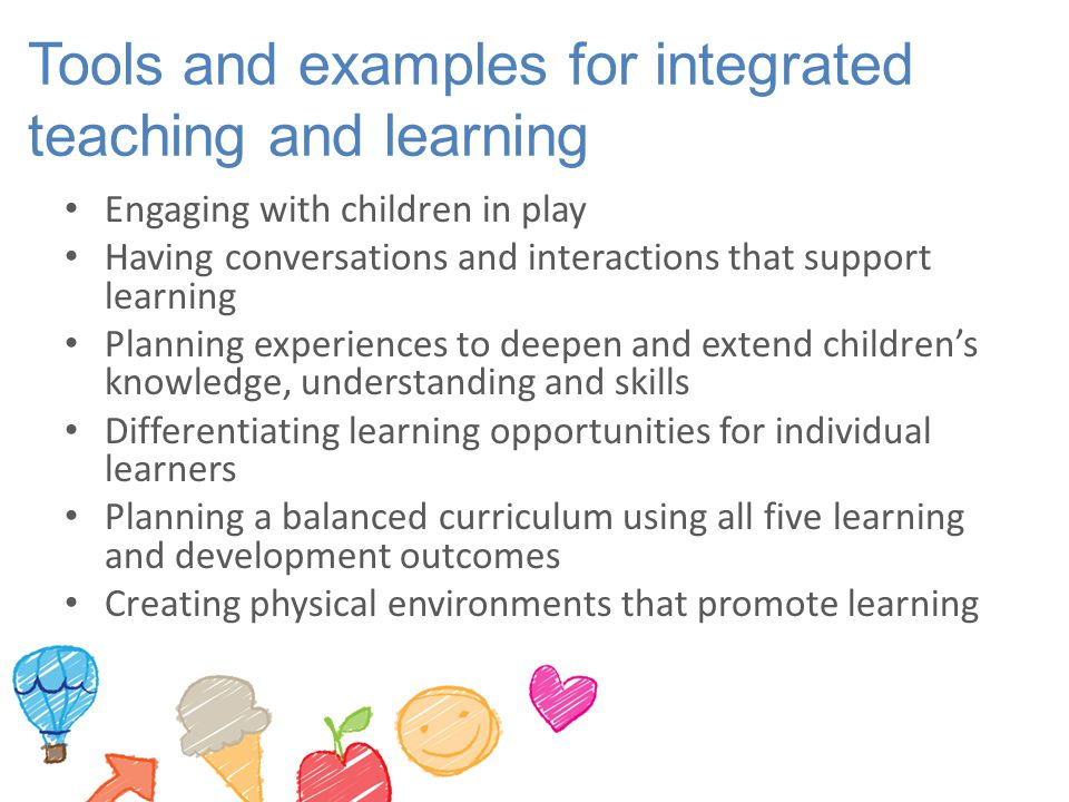 Tools and examples for integrated teaching and learning
